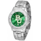 Baylor Bears Competitor AnoChrome Men's Watch with Steel Band by