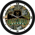 "Baylor Bears 12"" Camo Wall Clock"