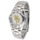 Baylor Bears Gameday Sport Ladies' Watch with a Metal Band