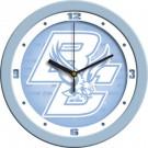 """Boston College Eagles 12"""" Blue Wall Clock"""