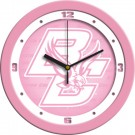 "Boston College Eagles 12"" Pink Wall Clock"