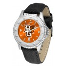 Bowling Green State Falcons Competitor AnoChrome Men's Watch with Nylon/Leather Band