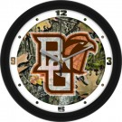 "Bowling Green State Falcons 12"" Camo Wall Clock"