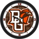"Bowling Green State Falcons 12"" Dimension Wall Clock"