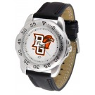 Bowling Green State Falcons Men's Sport Watch with Leather Band
