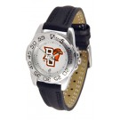 Bowling Green State Falcons Ladies Sport Watch with Leather Band