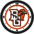 "Bowling Green State Falcons Traditional 12"" Wall Clock"