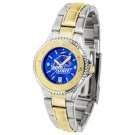 Boise State Broncos Competitor AnoChrome Ladies Watch with Two-Tone Band