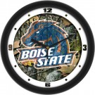 "Boise State Broncos 12"" Camo Wall Clock"