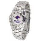 Boise State Broncos Gameday Sport Ladies' Watch with a Metal Band