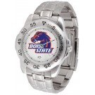 Boise State Broncos Sport Steel Band Men's Watch