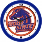 """Boise State Broncos Traditional 12"""" Wall Clock"""