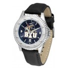 Brigham Young (BYU) Cougars Competitor AnoChrome Men's Watch with Nylon/Leather Band