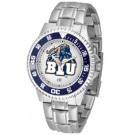 Brigham Young (BYU) Cougars Competitor Watch with a Metal Band