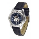 Brigham Young (BYU) Cougars Sport AnoChrome Ladies Watch with Leather Band