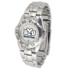 Brigham Young (BYU) Cougars Gameday Sport Ladies' Watch with a Metal Band