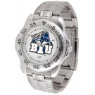 Brigham Young (BYU) Cougars Sport Steel Band Men's Watch