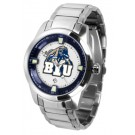 Brigham Young (BYU) Cougars Titan Steel Watch by