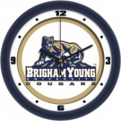 "Brigham Young (BYU) Cougars Traditional 12"" Wall Clock"