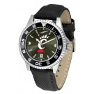 Cincinnati Bearcats Competitor AnoChrome Men's Watch with Nylon/Leather Band and Colored Bezel