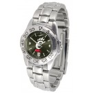 Cincinnati Bearcats Sport AnoChrome Ladies Watch with Steel Band
