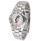 Cincinnati Bearcats Gameday Sport Ladies' Watch with a Metal Band