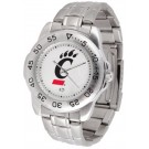 Cincinnati Bearcats Sport Steel Band Men's Watch