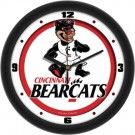 "Cincinnati Bearcats Traditional 12"" Wall Clock"
