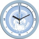"Citadel Bulldogs 12"" Blue Wall Clock"