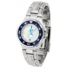 Citadel Bulldogs Competitor Ladies Watch with Steel Band