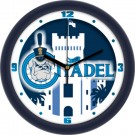 "Citadel Bulldogs 12"" Dimension Wall Clock"