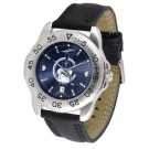 Citadel Bulldogs Sport AnoChrome Men's Watch with Leather Band