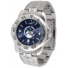 Citadel Bulldogs Sport Steel Band Ano-Chrome Men's Watch