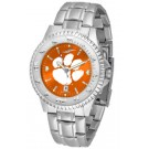 Clemson Tigers Competitor AnoChrome Men's Watch with Steel Band