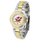 Central Michigan Chippewas Competitor Ladies Watch with Two-Tone Band