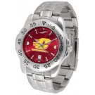 Central Michigan Chippewas Sport Steel Band Ano-Chrome Men's Watch