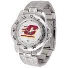 Central Michigan Chippewas Sport Steel Band Men's Watch