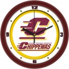 "Central Michigan Chippewas Traditional 12"" Wall Clock"