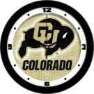 "Colorado Buffaloes 12"" Dimension Wall Clock"