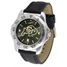 Colorado Buffaloes Sport AnoChrome Men's Watch with Leather Band