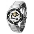 Colorado Buffaloes Titan Steel Watch by