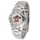 California State (Northridge) Matadors Gameday Sport Ladies' Watch with a Metal Band