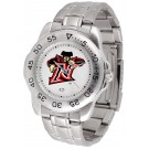California State (Northridge) Matadors Sport Steel Band Men's Watch