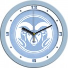 "Colorado State Rams 12"" Blue Wall Clock"