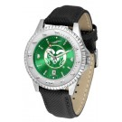 Colorado State Rams Competitor AnoChrome Men's Watch with Nylon/Leather Band
