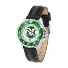 Colorado State Rams Competitor Ladies Watch with Leather Band