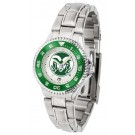 Colorado State Rams Competitor Ladies Watch with Steel Band