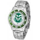 Colorado State Rams Competitor Watch with a Metal Band