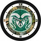 "Colorado State Rams 12"" Camo Wall Clock"