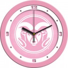 "Colorado State Rams 12"" Pink Wall Clock"